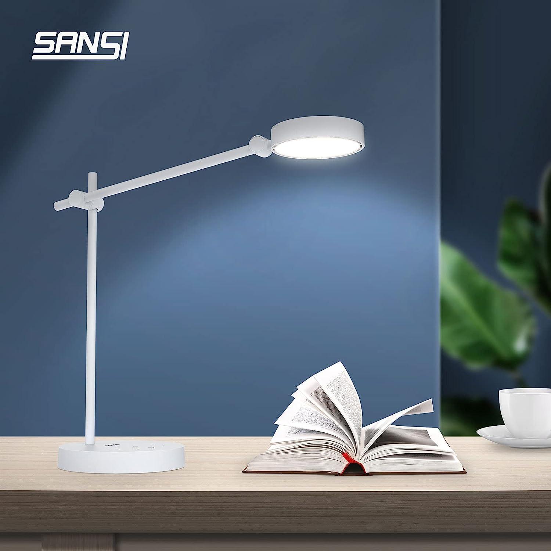 SANSI LED Desk Lamp with Ceramic Blue No Memphis Mall UL Verified Classic RG0 Tech.