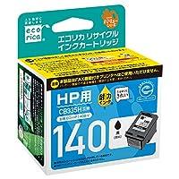 エコリカ リサイクルインクカートリッジ HP ブラック hp140(CB335HJ) ECI-HP140B-V
