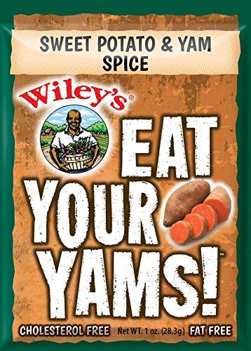 Wiley's Sweet Potato & Yam Spice - 3 (THREE) 1oz Packets