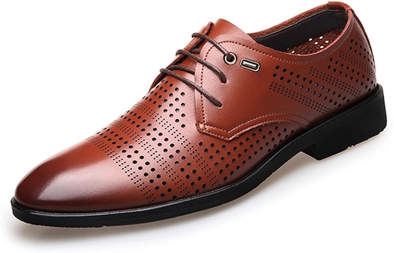 Z.L.F. Män's Lace Up Formal skor Genuine läder andningsbar mode Upper Lined Oxfords skor