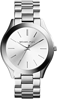 Michael Kors Women's 42mm Stainless Steel Slim Runway...