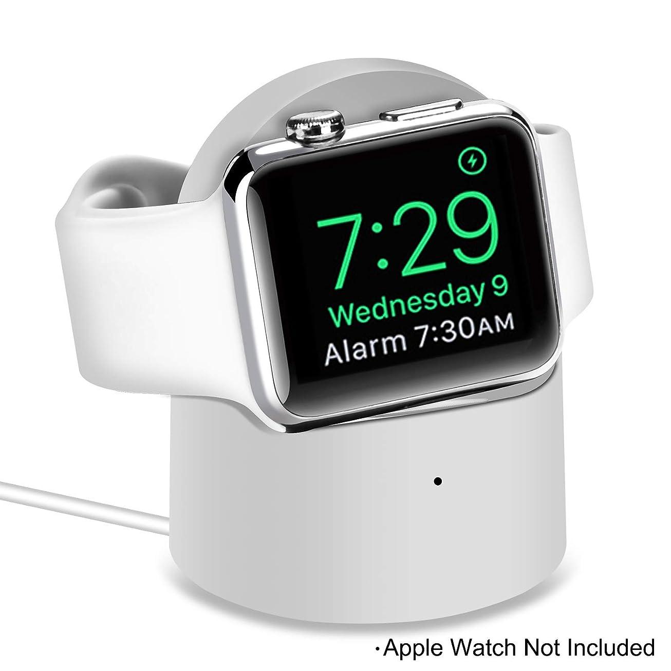 呼び出す投資失業Kasitek Apple Watch iWatch充電器 携帯型 アップル iwatch 小型ステント 内蔵腕時計充電器 iWatch充電所 磁気吸収感応 Apple Watch 4/3/2/1 (44 mm / 42 mm / 40 mm / 38 mm)