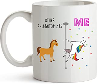YouNique Designs Other Phlebotomists Mug, 11 Ounces, Phlebotomy Mug for Women, Certified Phlebotomy Technician Cpt, Phlebo...