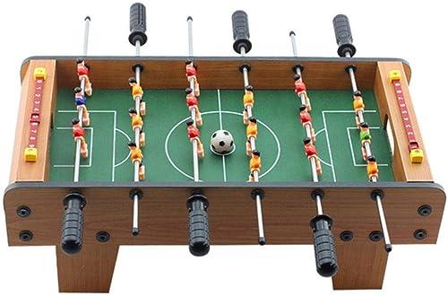 shengshiyujia Mini-Holztisch TischFußball, Fußballspiel Arcade-Raum Sportwettbewerb FamilienSpaß Spiel - Indoor und Outdoor Fußball Set