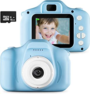 Digital Camera for Kids,Kids Camera, Children Creative DIY Camcorder with Rechargeable Battery for 3-10 Years Toddler Boys...