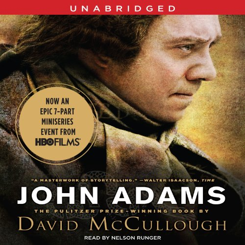 John Adams audiobook cover art