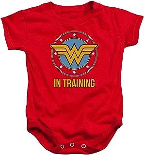 Wonder Woman WW in Training Baby Onesie Bodysuit