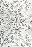 Mini Kalender 2019 - Silver Ornament - ca. DIN A6, 1 Woche pro Seite