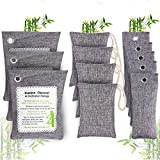 JZBRAIN Bamboo Charcoal Air Purifying Bags 1 Pack, Activated Charcoal Bags Odor Absorber...
