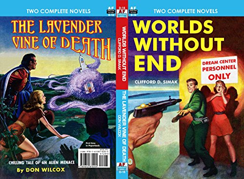 Worlds Without End & The Lavender Vine of Death (Armchair Fiction Double Novels Book 15) (English Edition)