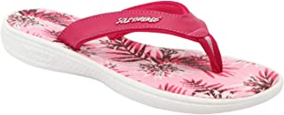 SOLETHREADS Breeze | Soft | Comfortable | Washable Footbed | Faux Leather Strap | Shock Absorbent Soul | Fun | Cute | Slippers | Flip Flops for Women
