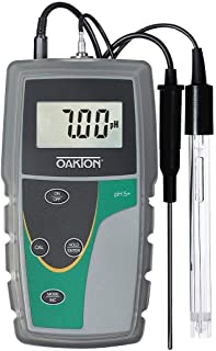 Oakton - WD-35613-52 pH 5+ Handheld Meter with pH Probe
