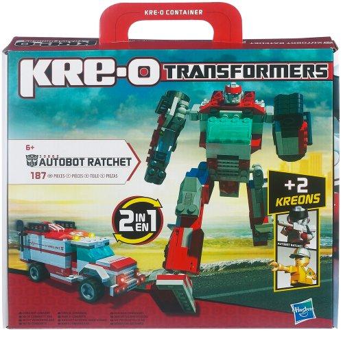 KRE-O - 306621480 - Jeu de Construction - Transformers - Ratchet