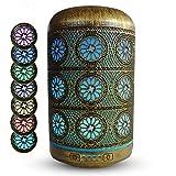 Humidificadores Difusor Aceites Esenciales De Aromas |Aida| Humificadores De Humedad en Metal 250ml Ambientador Electrico Aromaterapia Ultrasónico hecho a mano