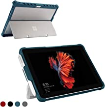 Youtec for Microsoft Surface Pro 7/ Pro 6/ Pro 5/ Pro 4 Case, Shockproof Rugged Folio Protective Hard Cover with Pen Holder Compatible with Type Cover Keyboard + Original Kickstand (Cobalt)