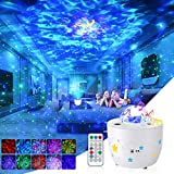 Galaxy Projector Star Projector Night Light with Ocean Wave Projector Remote Control/Timer/Galaxy 360 Pro Galaxy Light...
