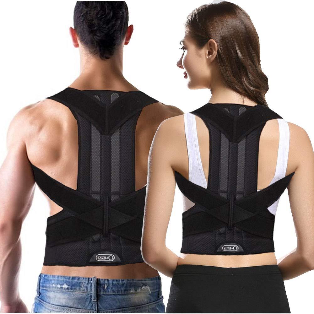 Back Brace Posture Corrector Unisex- Overseas parallel import regular item Fully Suppo Direct store Best Adjustable