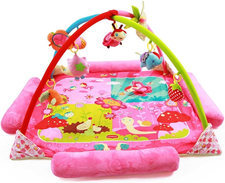 suministro directo de los fabricantes IMBM Baby Juego Juego Juego Pad, Juguetes para bebés, Gimnasio de música multifunción, Fotos de Dibujos Animados, Puzzle,B,XL51.1  51.1  23.6in  calidad auténtica