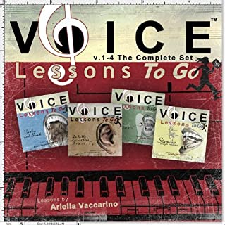 Voice Lessons to Go 1-4 : Complete Set