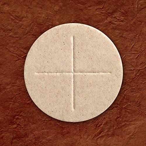Cavanagh Company Altar Bread 2 3/4' (70mm) - Whole Wheat Box of 50