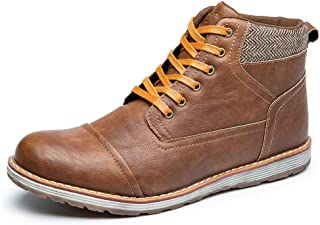 Men's Chukka Boots Casual Lace Up Ankle Dress Boot Comfortable Walking Sneaker