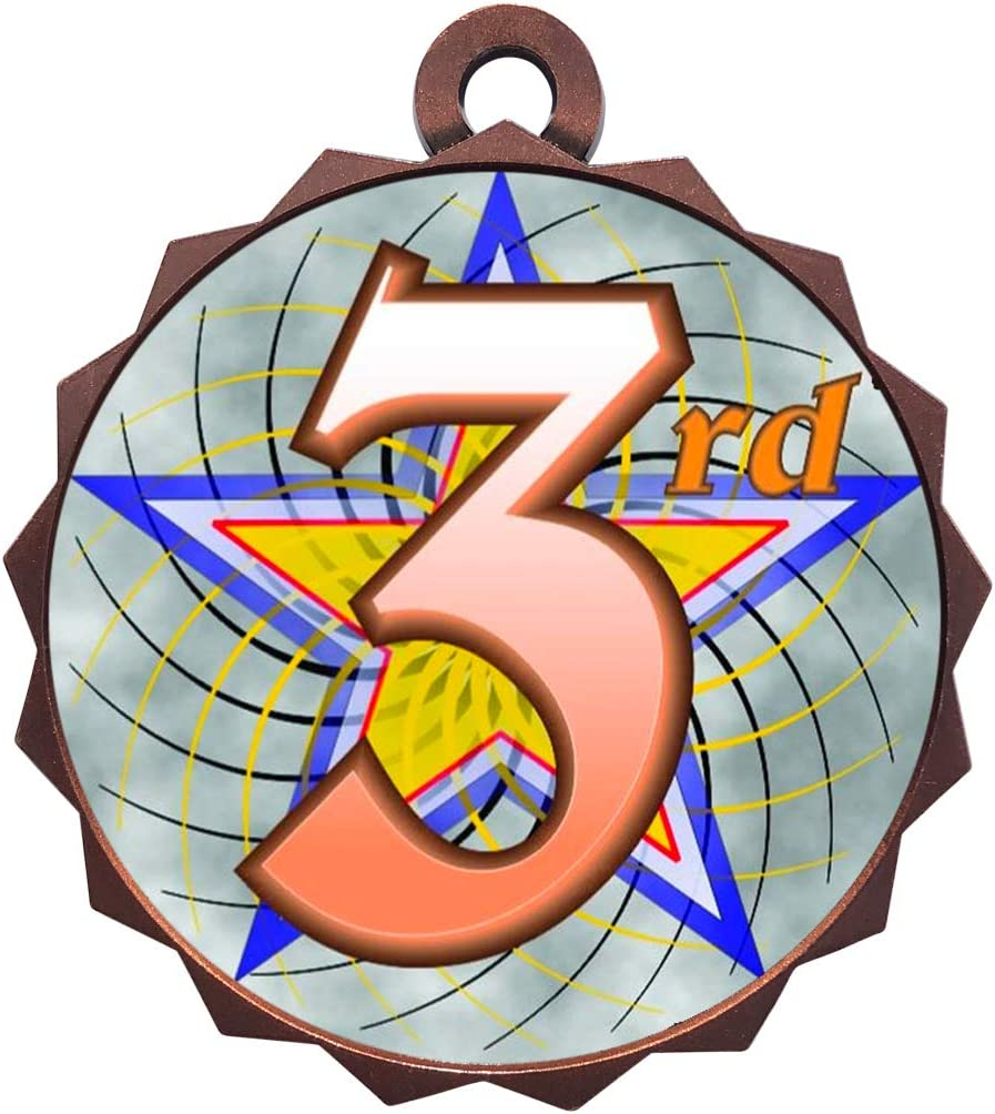 Express Medals Rapid rise 1 to Ranking TOP8 50 Packs 3rd Medal Award Bronze Place Trophy