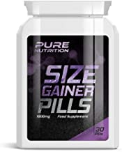 PURE Nutrition Size Gainer Pills aE Weight Gainer Pill GET Bigger Muscles Bulking Estimated Price : £ 23,99