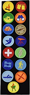 Boy Scouts Morale Patch Tactical Military Morale Patches(15 PC)