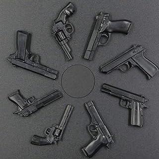 ARINKURIN 1/6スケール ハンドガン 8種セット 保証書付 プラモデル 模型 ジオラマ フィギュア 用 デザート・イーグル、コルト・パイソン 357 マグナム、 COLT M1911A1、スミス・アンド・ウエッソン M29、92式手...