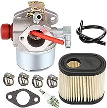 640350 Carburetor with 36905 Air Filter Spark Plug for Tecumseh LV195EA LEV120 LEV100 LEV105 640303 640271 Engine Toro Recycler Lawn mowers