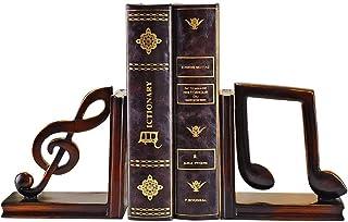 الملاحظة الموسيقية دفارات الديكور راتنج الكفيل مجموعة نهايات الأرفف الديكور دفاتر يدعم سدادة كتاب الثقيلة للكتب Book Stand