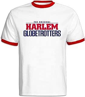 FENGTING Men's Harlem Globetrotters World Tour 2016 Hit Color T-Shirt