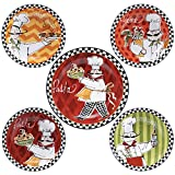 Certified International Corp Certified International Chefs on the Go Pasta Set, Multicolored, 5 Piece