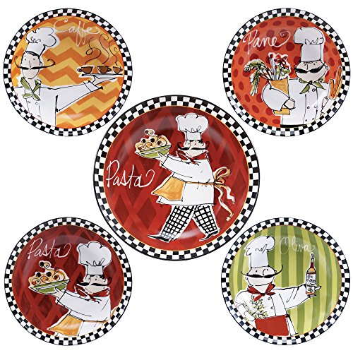 Chefs on the Go Plates