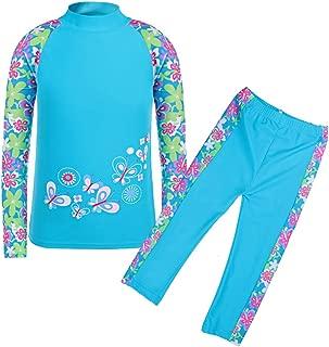 Girls Swimsuit UPF50+ 3-12 Years Two Piece Tankini