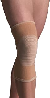 Thermoskin 4-Way Elastic Knee Support, Beige, Medium