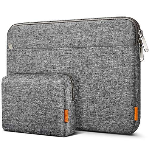 Inateck Laptoptasche Hülle Kompatibel mit 16 Zoll MacBook Pro/15 Zoll Surface Book 2/XPS 15 Notebook Sleeve Schutzhülle Hülle