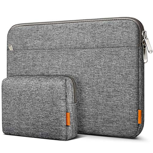 Inateck Case Sleeve 16 Inch Compatible with MacBook Pro 16 Inch 2019, MacBook Pro 15 Inch 2013-2015, MateBook D15, ThinkPad Chromebook 14, Surface Book 2, 15 Inch Surface Laptop 3 - Grey