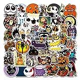 WayOuter Halloween Aufkleber 100 Stücke Stickers einzigartige Kühle Aufkleber Kind Teenager...