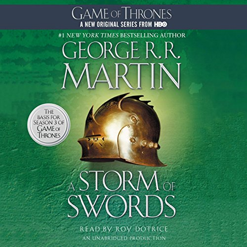 A Storm of Swords audiobook cover art