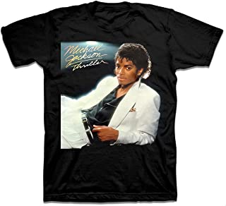 Michael Jackson Thriller Mens Black T-Shirt (Medium)