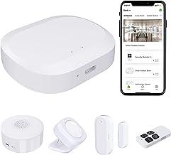 Home Alarm System Wireless JLAZGJ 5- Piece nest Home Security System Home Security kit Wireless Security Alarm System for ...