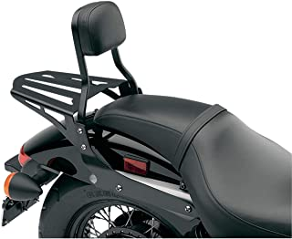 Cobra Sissy Bar Luggage Rack - Formed - Black 02-3602B