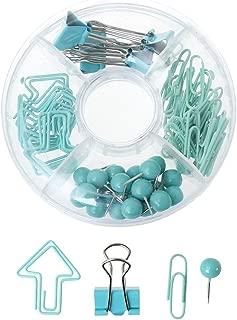 Nikunty - Juego de clips (65 piezas), color verde 10cm