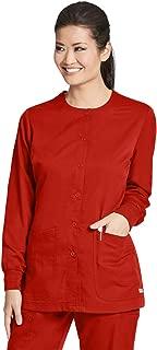 Grey's Anatomy 4-Pocket Warm-Up for Women - Classic Fit Medical Scrub Jacket