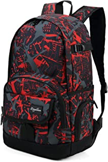 Best red and black school backpack Reviews