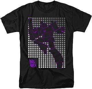 Transformers Megatron Grid Unisex Adult T Shirt for Men and Women