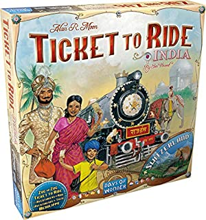 Days of Wonder 811774 - Ticket to Ride India (B005OQ2ZY4) | Amazon price tracker / tracking, Amazon price history charts, Amazon price watches, Amazon price drop alerts