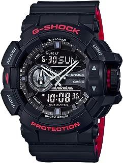 Casio Mens Quartz Watch, Analog-Digital Display and Resin Strap GA-400HR-1ADR