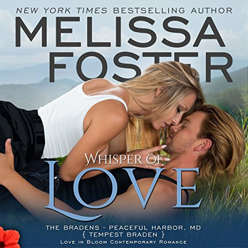 Whisper of Love: Tempest Braden audiobook cover art